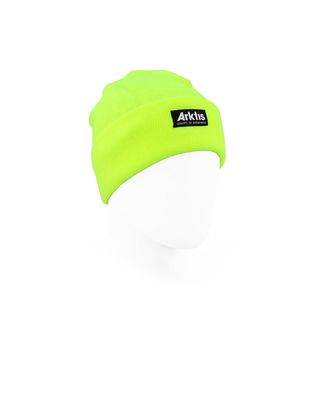 V200 Beanie Hat - HiVis Yellow