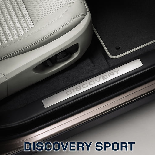Einstiegsleisten in Chrom-Optik - Discovery Sport