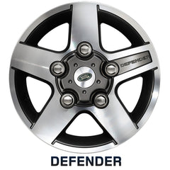 "16"" Leichtmetallfelge ""Dual Finish"" - Defender"