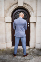 Marc Darcy Hilton - Blue Checked Tweed Blazer