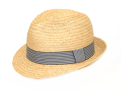 Denton Cuba Straw Hat With Stripe Band