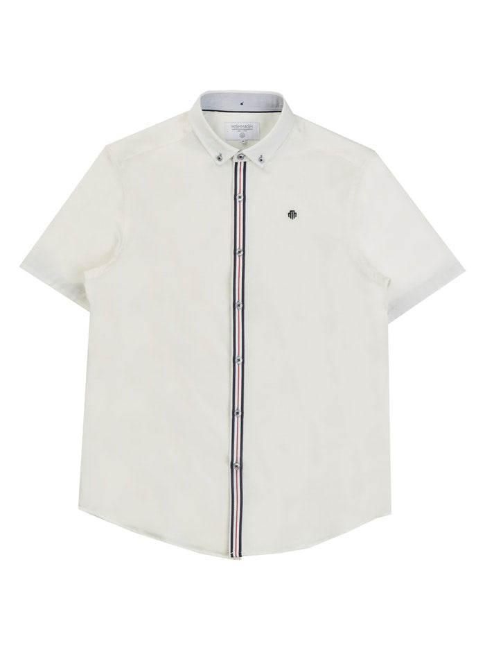 Mish Mash Hurst Short Sleeve Shirt White