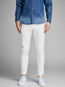 Jack Jones Marco Bowie Chinos White