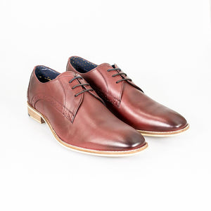 Cavani John - Cherry Signature Leather Shoes
