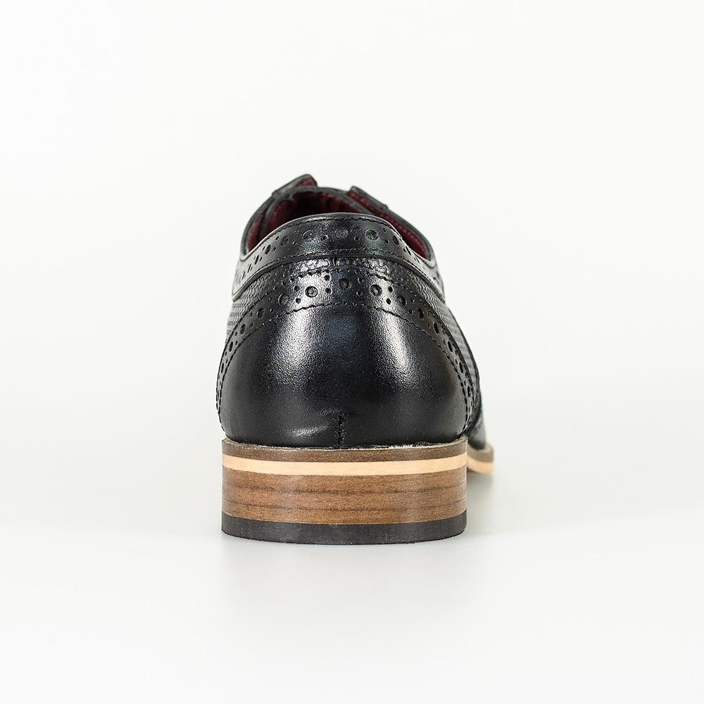 Cavani Tommy - Black Leather Shoes