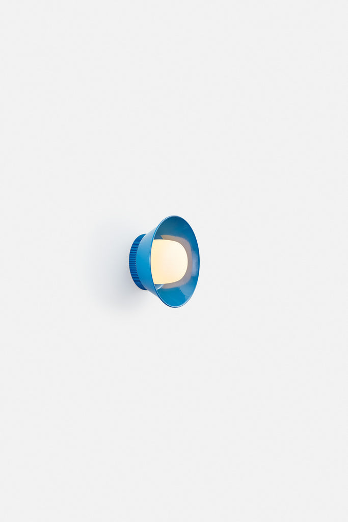 Hoist Sconce Small - Blue (Ready to Ship)