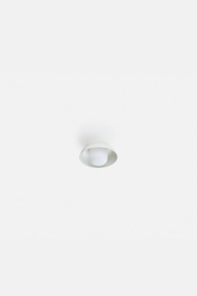Hoist Flush Mount Small - Cream White (Ready to Ship)
