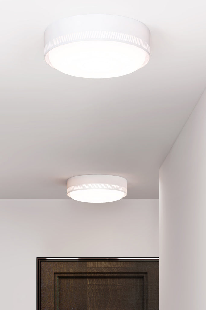 Centro Flush Mount - Vermilion Red
