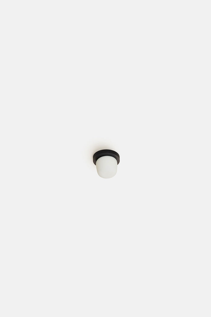 Hoist Flush Mount Bare Small - Black (Ready to Ship)