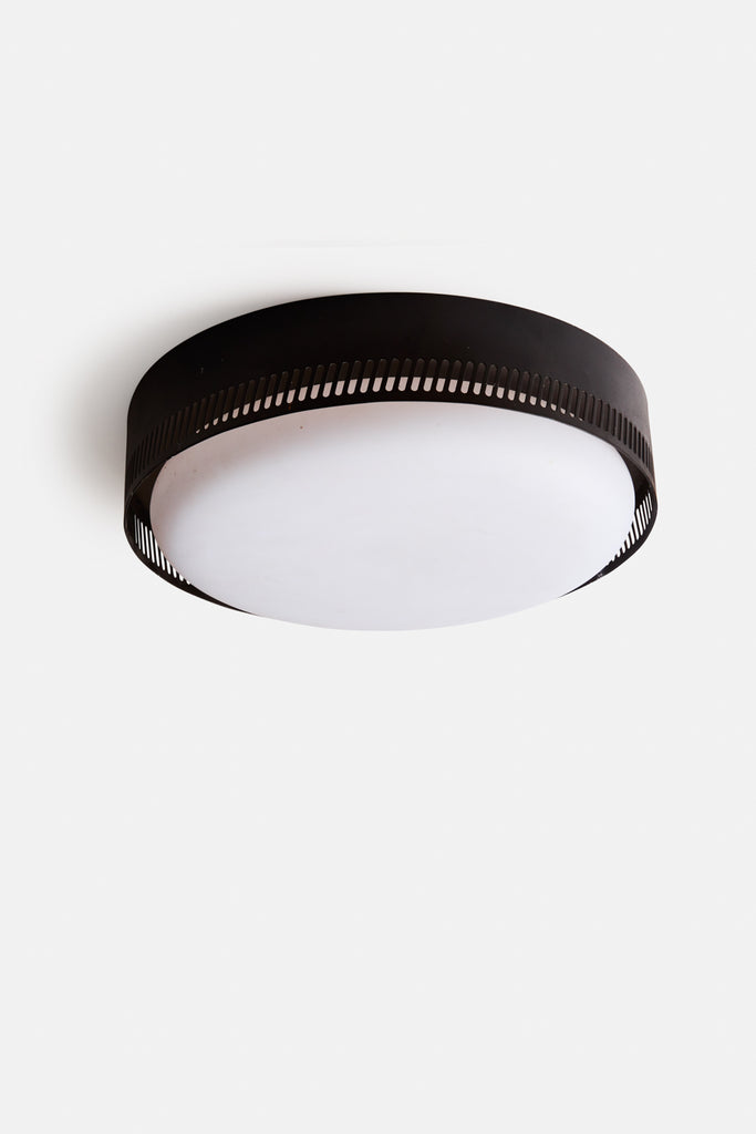 Centro Flush Mount - Matte Black
