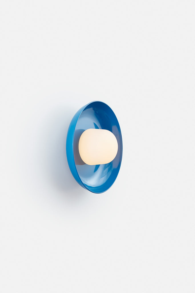 Hoist Sconce Medium - Blue