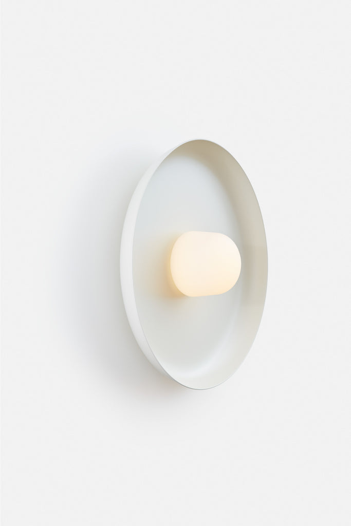 Hoist Sconce Large - Cream White (Ready to Ship)