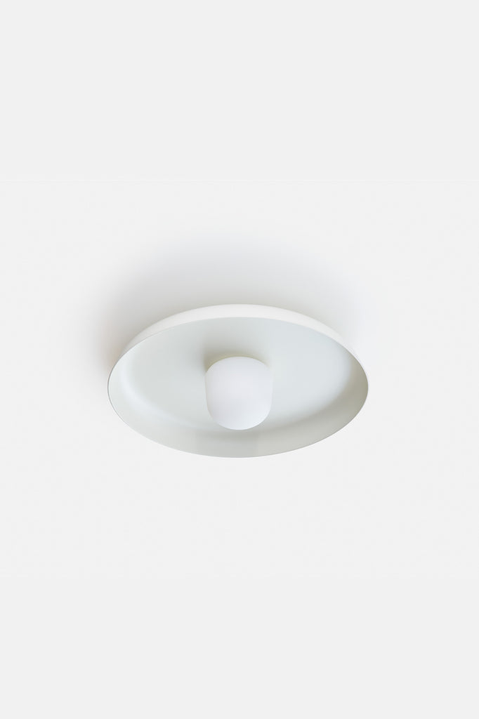 Hoist Flush Mount Large - Cream White (Ready to Ship)