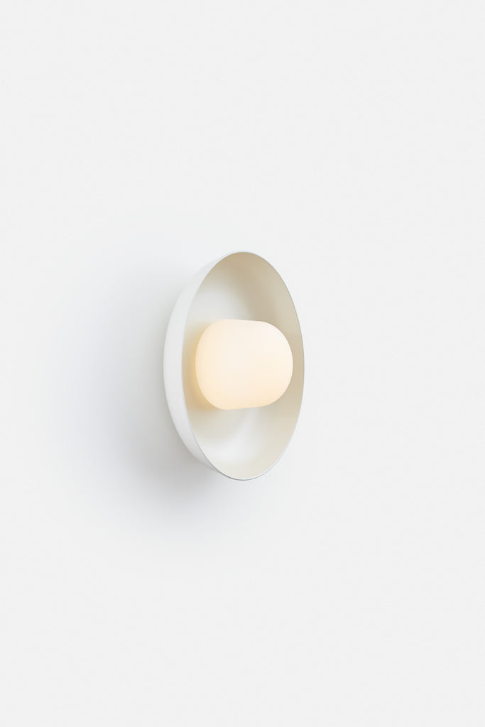 Hoist Sconce Medium - Cream White (Ready to Ship)