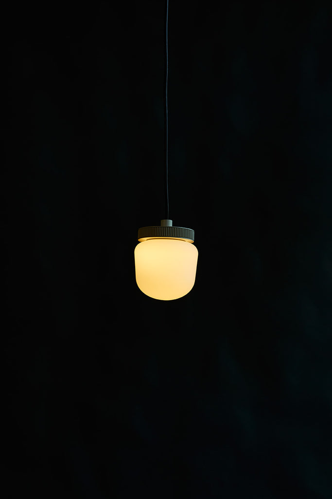 Hoist Pendant Bare Large - Cream White (Ready to Ship)