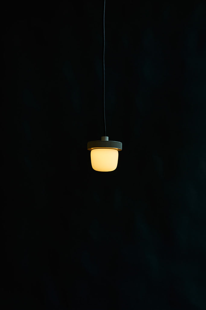 Hoist Pendant Bare Small - White