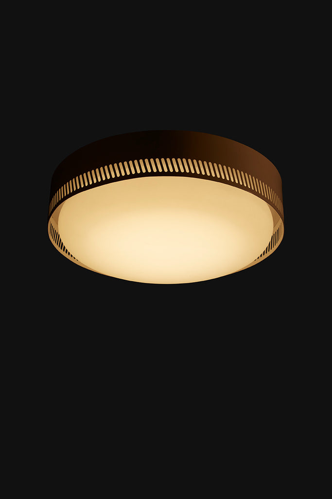 Centro Flush Mount - Silk Grey