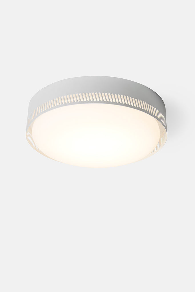 Centro Flush Mount - Matte White (Ready to Ship)