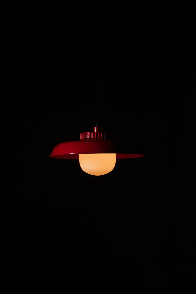 Hoist Pendant Medium - Vermilion