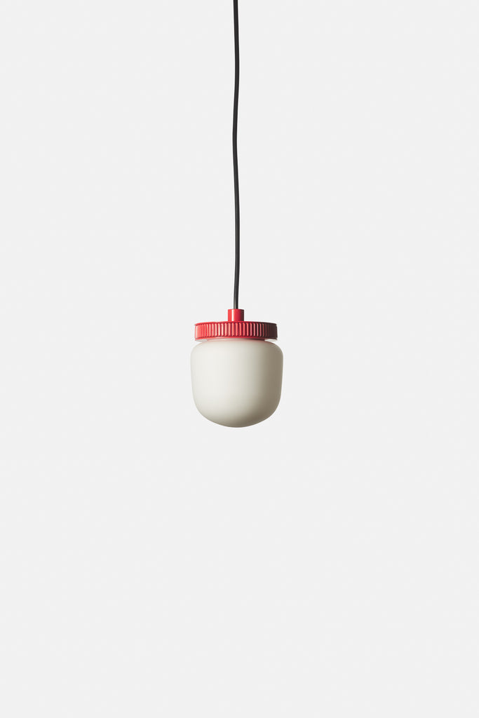 Hoist Pendant Bare Large - Vermilion Red (Ready to Ship)