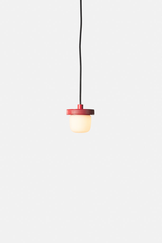 Hoist Pendant Bare Small - Vermilion Red (Ready to Ship)