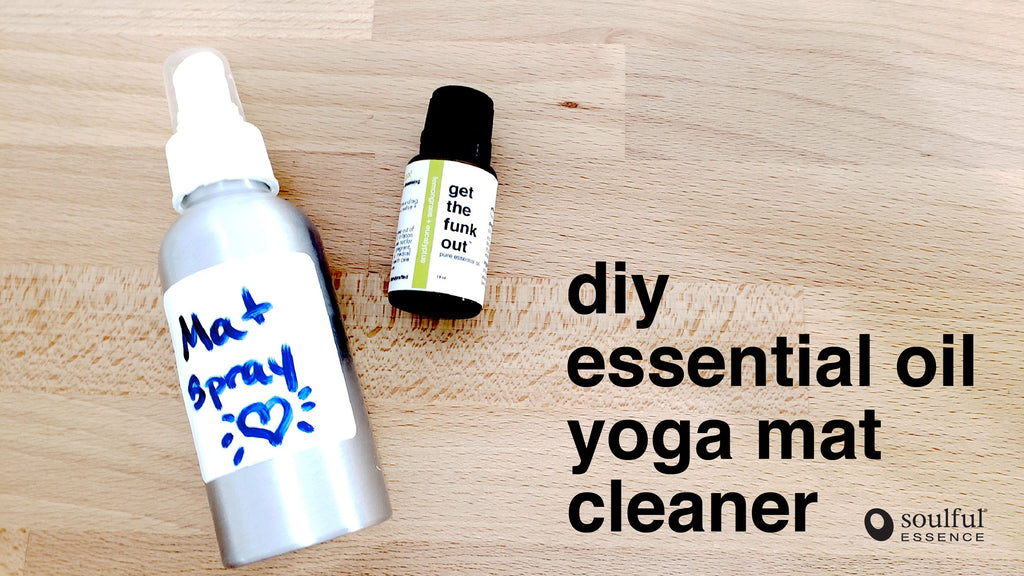 DIY Essential Oil Yoga Mat Cleaner