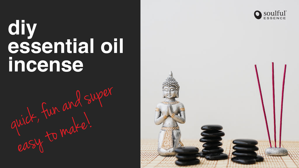 DIY Essential Oil Incense