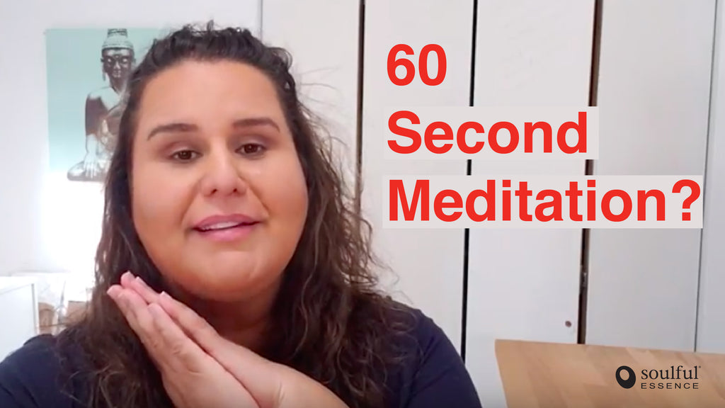 How to Take A Me Minute (60 Second Aromatherapy Meditation)