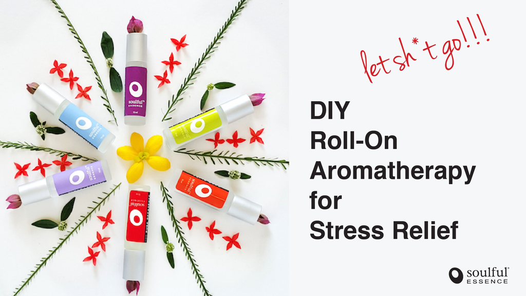DIY Roll-On Aromatherapy for Stress Relief