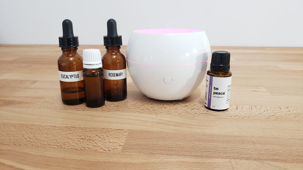 DIY Essential Oil Allergy Blend
