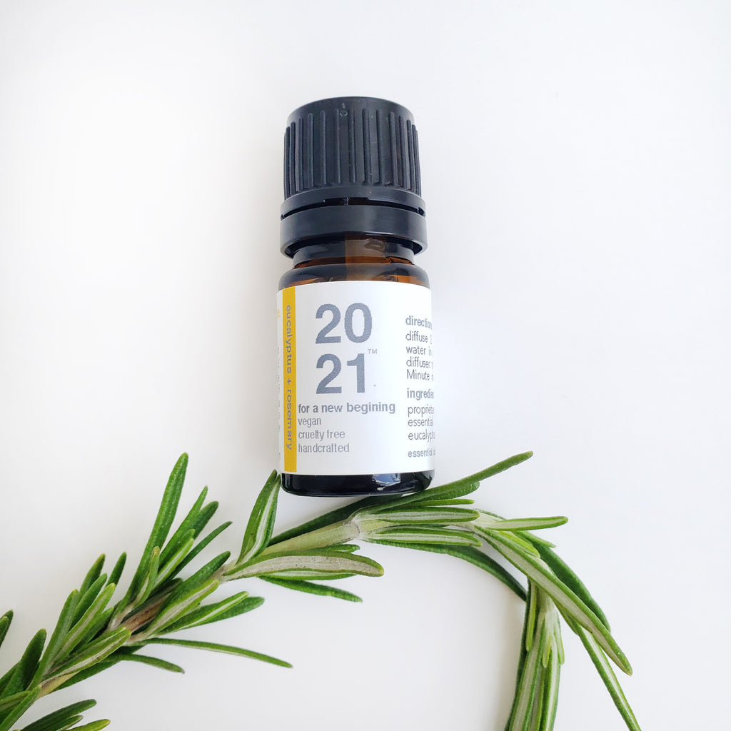 2021  |  Eucalyptus, Rosemary + Hope Essential Oil Blend