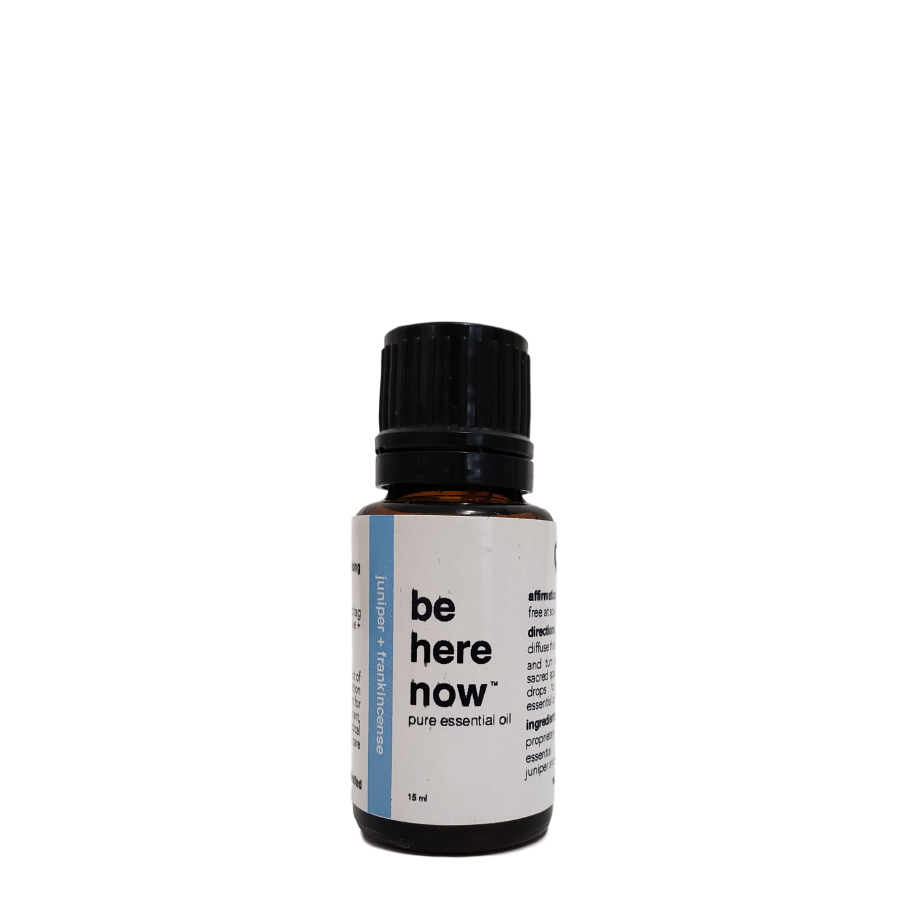 Be Here Now | Juniper + Frankincense Essential Oil Blend