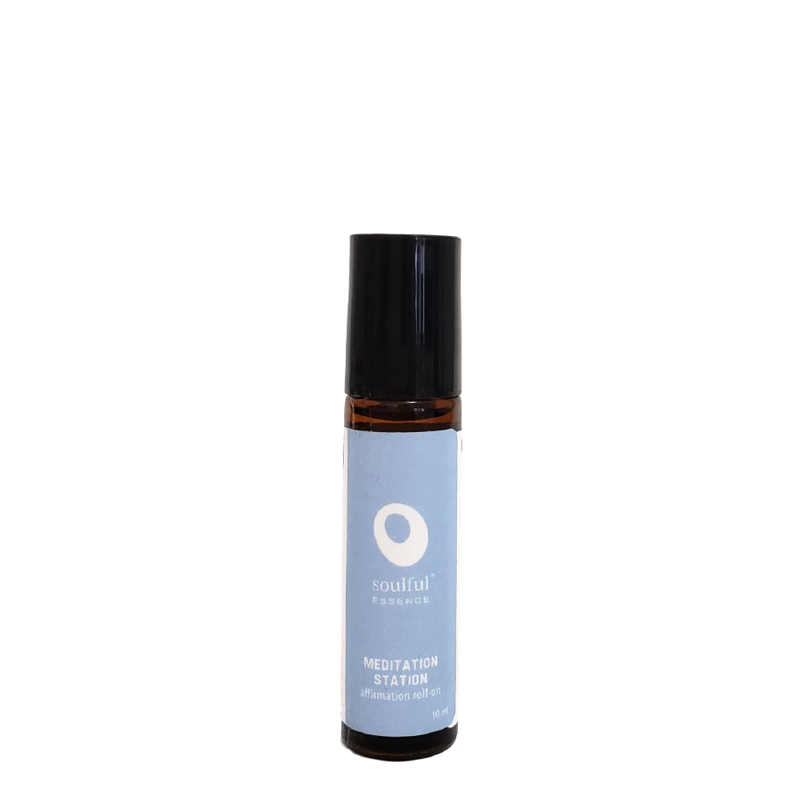 Be Here Now | Juniper + Frankincense Aromatherapy Roll-On