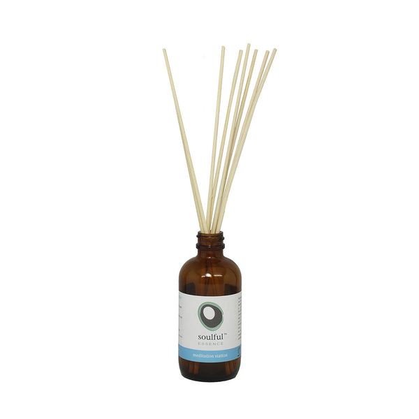 Be Here Now | Juniper + Frankincense Aromatherapy Reed Diffuser