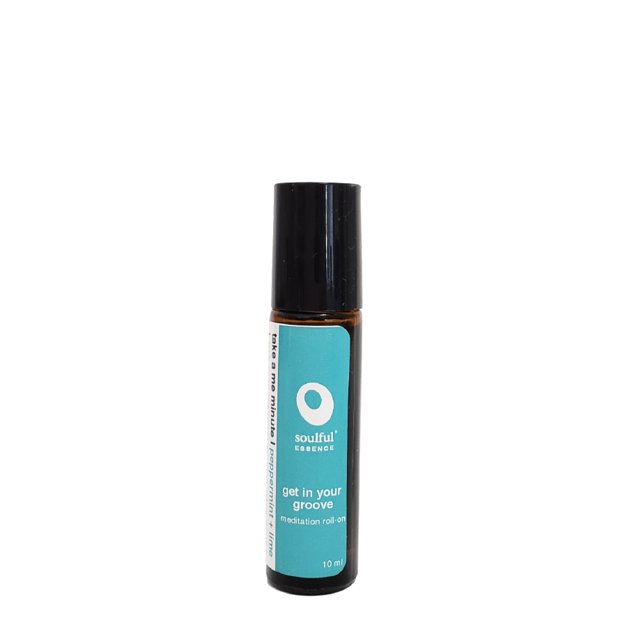 Get in Your Groove | Peppermint + Lime Aromatherapy Roll-On