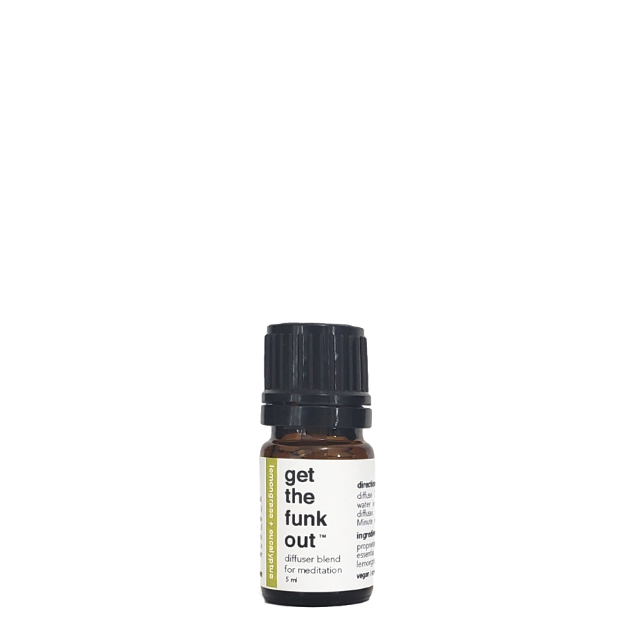 Get the Funk Out  |  Lemongrass + Eucalyptus Essential Oil Blend