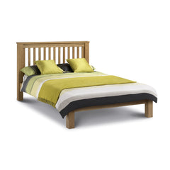 Amsterdam - Low Foot End Super King Size Bed - Oak