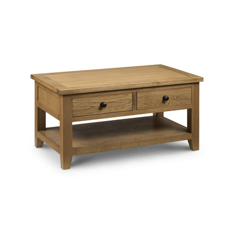 Picture of Astoria - 2 Drawer Coffee Table - Oak