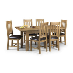 Astoria - Butterfly Extending Dining Table - Oak