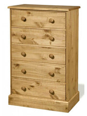 Cotswold - 5 Drawer Chest - Pine