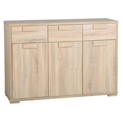 Cambourne - 3 Door 3 Drawer Sideboard - Sonoma Oak