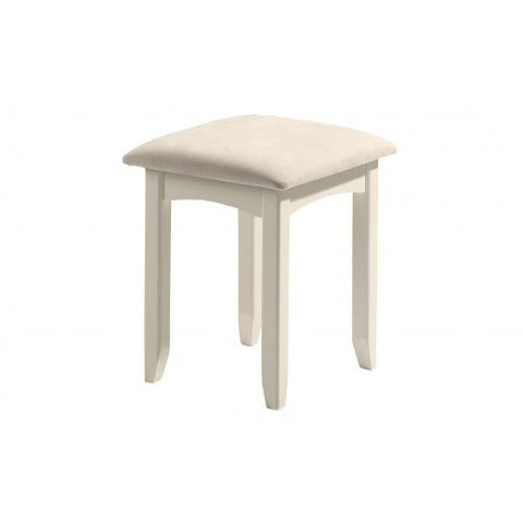 Picture of Cameo - Dressing Table Stool - Stone White