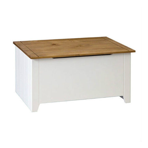 Picture of Capri - Blanket Box/Ottoman - White