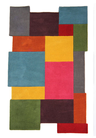 Picture of Abstract Wool Rug