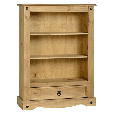 Picture of Corona - Low Bookcase - Pine