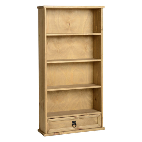 Picture of Corona - 1 Drawer DVD Rack - Pine