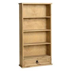 Corona - 1 Drawer DVD Rack - Pine