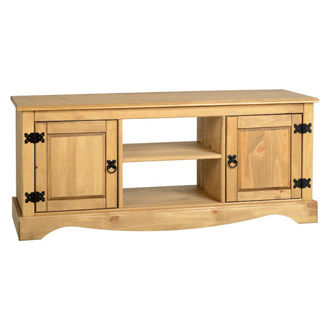 Picture of Corona - 2 Door Flatscreen TV Stand - Pine