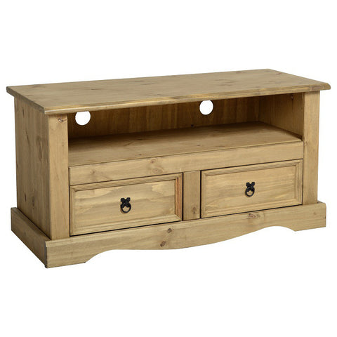 Picture of Corona - 2 Drawer TV Unit- Pine