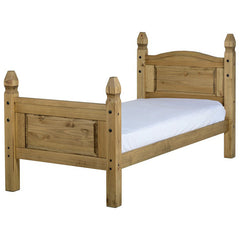 Corona - 3' Single High Footend Bed - Pine